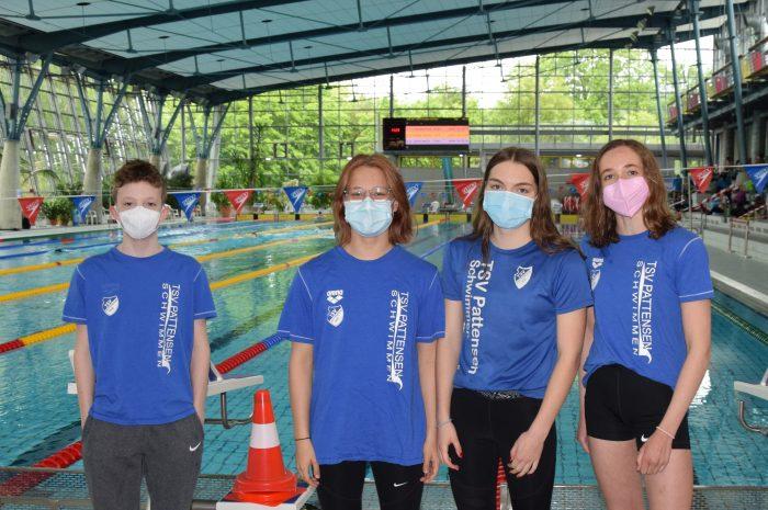 Pattenser Schwimm-Quartett auch bei den 3. LSN – Open in Braunschweig mit zahlreichen neuen Bestzeiten erfolgreich! TSV-Ass Mara Sophie Brandes verbessert erneut 4 Vereinsrekorde