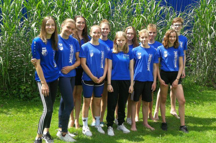 Sonniges, erfolgreiches Wochenende unserer TSV-Schwimmer beim LSN Sommer in Ricklingen