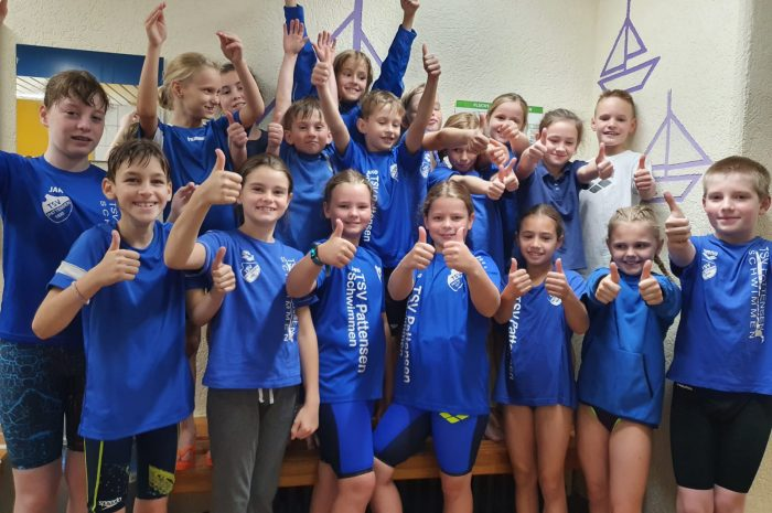 TSV Pattensen-Kids erfolgreich beim Schwimmwettkampf in Hildesheim